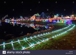 best exterior christmas lights over a million christmas lights adorn koziar s christmas village