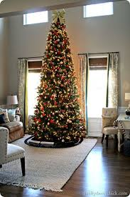 shining 14 ft tree trees artificial pre lit with clear