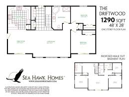 floor plans for basements basement ranch house plans walkout basement