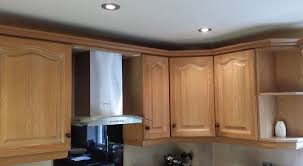 Limed Oak Kitchen Cabinets by Hand Painting A Limed Oak Kitchen In Edwalton Nottingham Hand