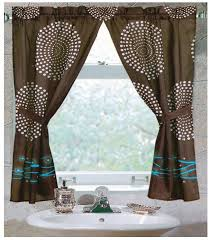 bathroom curtain ideas tips ideas for choosing bathroom window curtains with photos