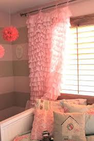 light pink ruffle curtains pink ruffle curtains pink ruffle curtains image of pink and blue