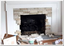 Fireplace Refacing Kits by Airstone Fireplace Makeover On A Diy Budget Inmyownstyle