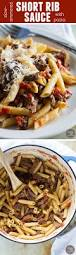 slow simmered short rib sauce with pasta taste and tell