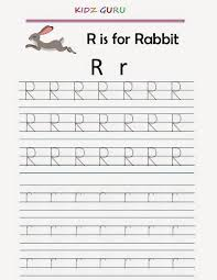Worksheets For Kindergarten Printable Kindergarten Worksheets Printable Tracing Worksheet Alphabet R R