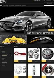 Automotive Business Card Templates 15 Awesome Ecommerce Templates Themes For Auto Parts Websites