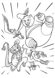 kung fu panda monkey coloring pages kung fu panda coloring pages heartscollective co