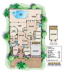 Mediterranean Style Floor Plans Murano Ii Home Plan Luxury Mediterranean Style Home 4bed 3bath