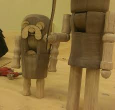 turning wooden nutcrackers from blanks 5 steps with pictures