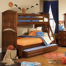 Bunk Bed With Stairs And Trundle Furniture Twin Sleeper Bunk Beds Amazing Mattress Brooke Honey