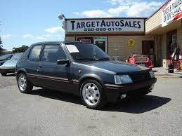 peugeot for sale canada peugeot 205 11 winner specs photos videos and more on topworldauto