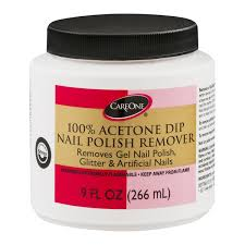 careone 100 acetone dip nail polish remover from giant food