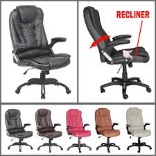 various interior on reclining executive office chair 76 amazoncom