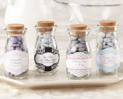 chagne wedding favors vintage personalized milk wedding favor jar favor bottles