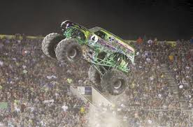 monster trucks videos crashes grave digger driver hurt in florida show crash local news
