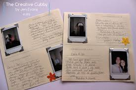 the creative cubby polaroid wedding guest book