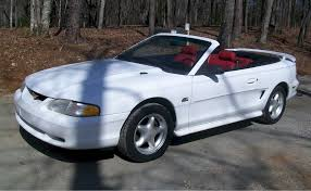 95 mustang gt white 1995 ford mustang gt convertible mustangattitude