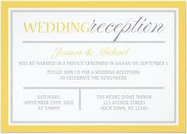wedding reception invitations designs wedding reception invitation templates free