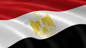 Egypts Flag Egyptian Flag Waving In The Wind Stock Footage 10561533