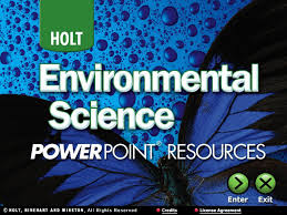 environment science ppt section 1