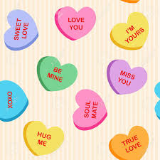 s day heart candy seamless heart candy fabric textile pattern for s