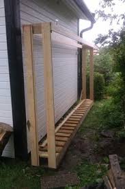 Firewood Storage Rack Plans by No Tool Firewood Rack Just Some Cinder Blocks 2x4s And Fence