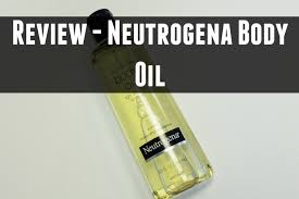 review neutrogena body oil the hat logic youtube