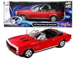 1967 camaro diecast maisto 1 18 1967 chevrolet camaro rs ss 396 diecast model car