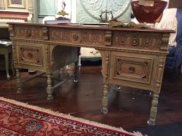 chalk paint kathie jordan design custom drapery custom furniture carved antique desk painting a great piece of furniture with chalk paint