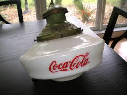 coca cola pendant lights coca cola 1920 s milk glass globe hanging l coca cola