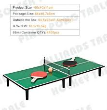 tabletop ping pong table table top ping pong game table tap tennis table tennis table china