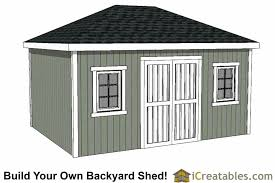 Hips Roof Hip Roof Shed Plans Shed Designs With Hip Roofs