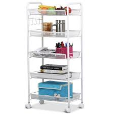 Bathroom Cart On Wheels by Rolling Utility Carts