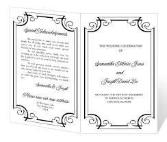 Examples Of Wedding Programs Templates 84 Best Wedding Programs Images On Pinterest Fan Programs