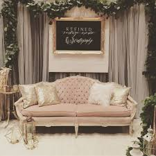 wedding expo backdrop wedding expo booth www refinedvintageevents blush bridal