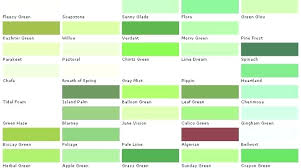 colour shades with names shades of green color different color greens pleasing green shade