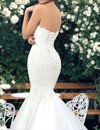 mermaid wedding oyisha womens sweetheart mermaid wedding dress lace bridal dresses
