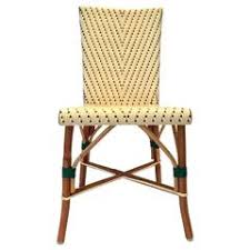 Woven Bistro Chairs Bistro Chairs 39 For Sale On 1stdibs