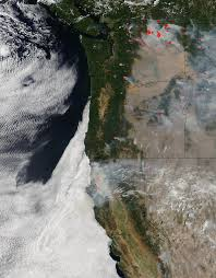 Wildfire Alaska 2015 Map by Ravaging Washington Oregon And California