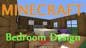 Minecraft Bedroom Ideas Minecraft Bedroom Design Ideas Youtube