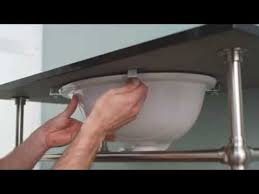 Bathroom Vanity Installation How To Install An Undermount Sink