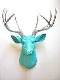deer head home decor deer head wall mount faux gold wholesalefaux wholesalemetal neon