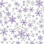 silver christmas wrapping paper silver and purple snowflakes christmas suttons printed patterned