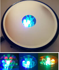 led light stand for crystal glass art light box displays crystal fox gallery