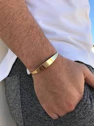 hand bracelet men images Bracelets cuff bracelet men gold christina christi handmade jpg