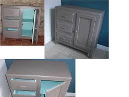 chambre taupe et bleu une première mise en peinture en taupe et bleu lagon vendu la