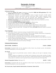 Peoplesoft Hrms Functional Consultant Resume Ramaseshu Amirapu Peoplesoft Hcm Functional Consultant