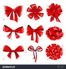bows and ribbons big set of gift bows with ribbons vector stock vector big