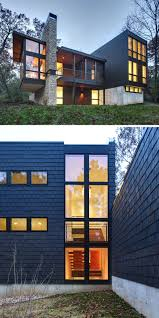 Contemporary Modern House 13 Examples Of Modern Houses With Wooden Shingles Contemporist