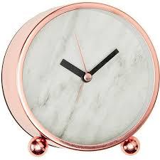 gold desk accessories target lisa t marble effect desk clock target australia 19 cad liked